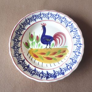 Cockerel Plate