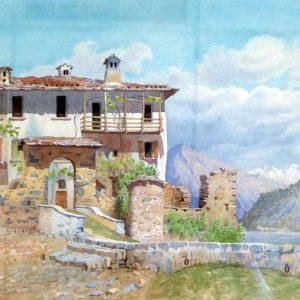 Painting Lake Como